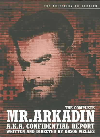 COMPLETE MR. ARKADIN BY WELLES,ORSON (DVD)