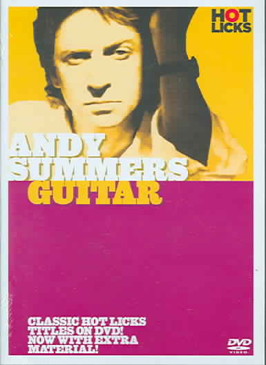 ANDY SUMMERS:GUITAR BY SUMMERS,ANDY (DVD)